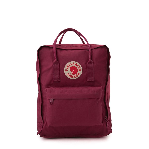 Main view of Fjallraven Kanken Backpack - Plum