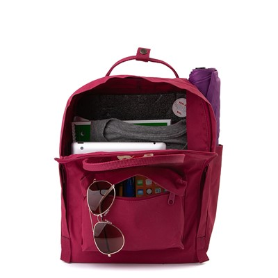 Alternate view of Fjallraven Kanken Backpack - Plum