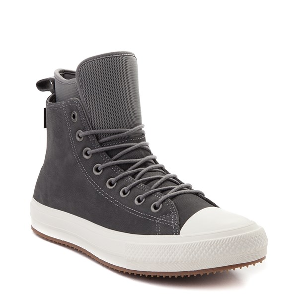 alternate image alternate view Converse Chuck Taylor All Star Waterproof Sneaker Boot - Grey / White / GumALT1B