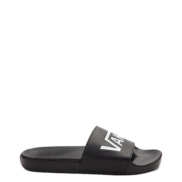 Main view of Vans Slide On Logo Sandal - Black / White