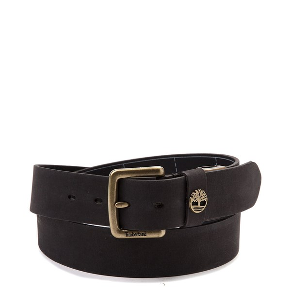Timberland Logo Boxed Belt - Black