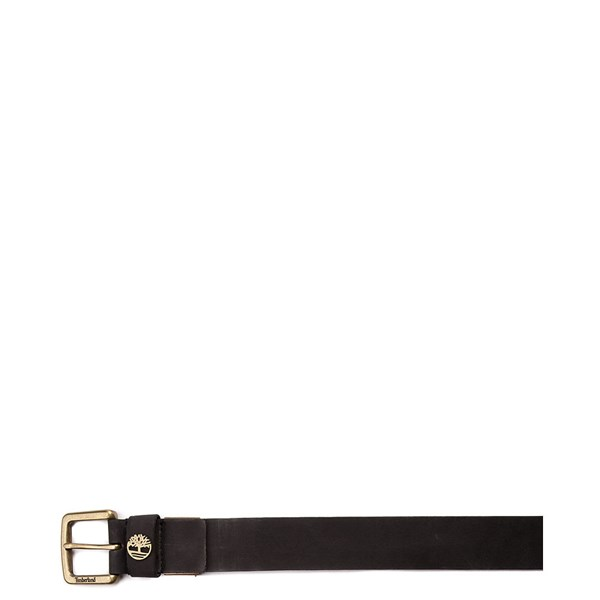 alternate image alternate view Timberland Logo Boxed Belt - BlackALT1