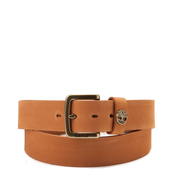Timberland Logo Boxed Belt - Wheat