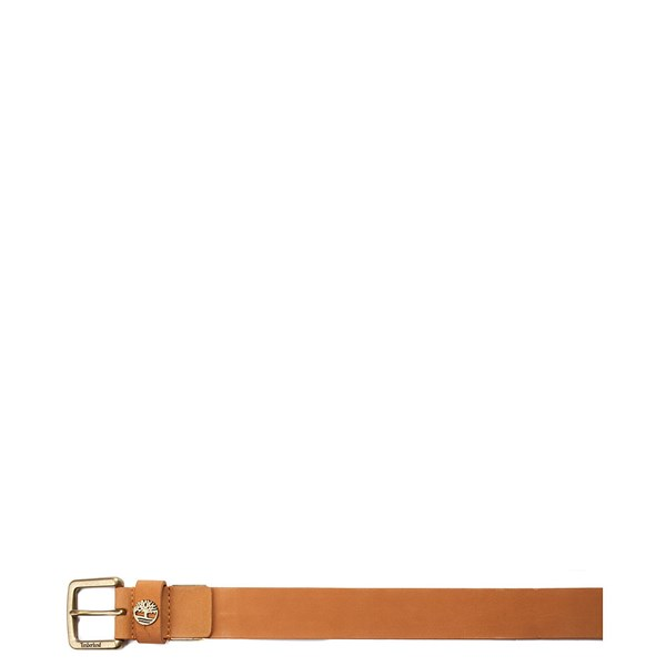 alternate image alternate view Timberland Logo Boxed Belt - WheatALT1