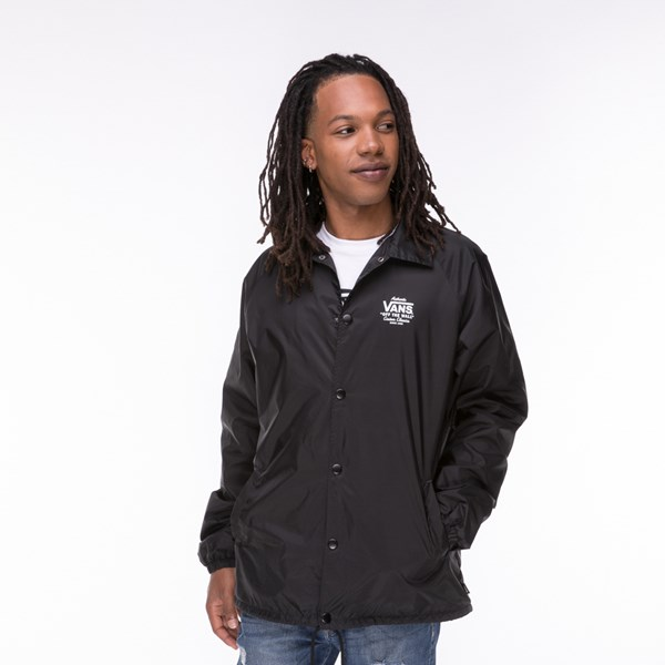 Mens Vans Coaches Jacket - Black