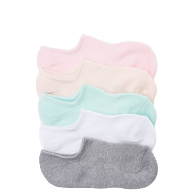 Main view of Womens Pastel Liners 5 Pack - Multi