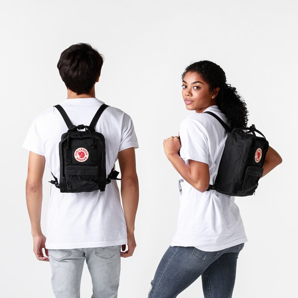 alternate image alternate view Fjallraven Kanken Mini Backpack - BlackALT1BADULT