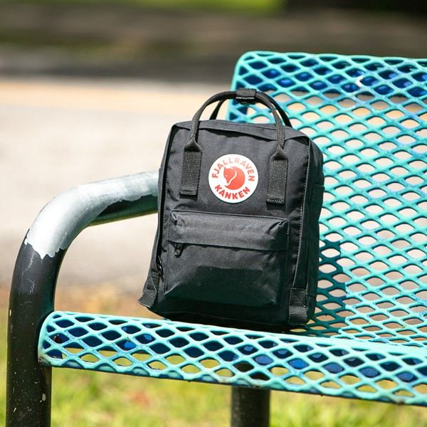 alternate image alternate view Fjallraven Kanken Mini Backpack - BlackALT1BB