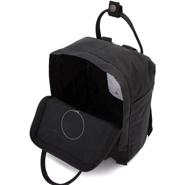alternate image alternate view Fjallraven Kanken Mini Backpack - BlackALT3