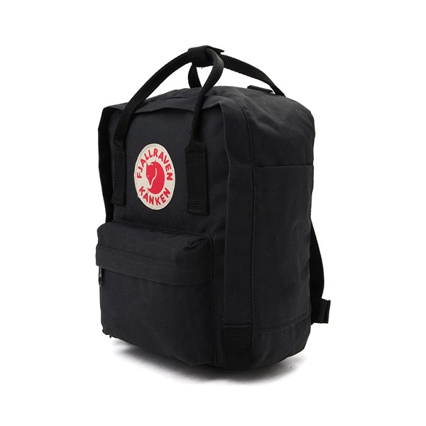 alternate image alternate view Fjallraven Kanken Mini Backpack - BlackALT4
