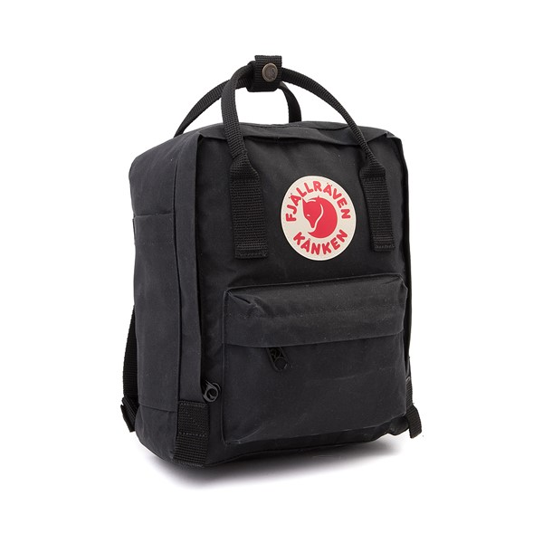 alternate image alternate view Fjallraven Kanken Mini Backpack - BlackALT4B