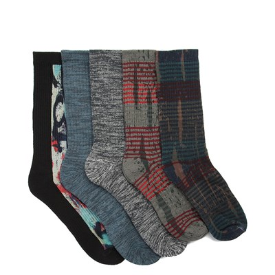 Main view of Mens Rotary Crew Socks 5 Pack