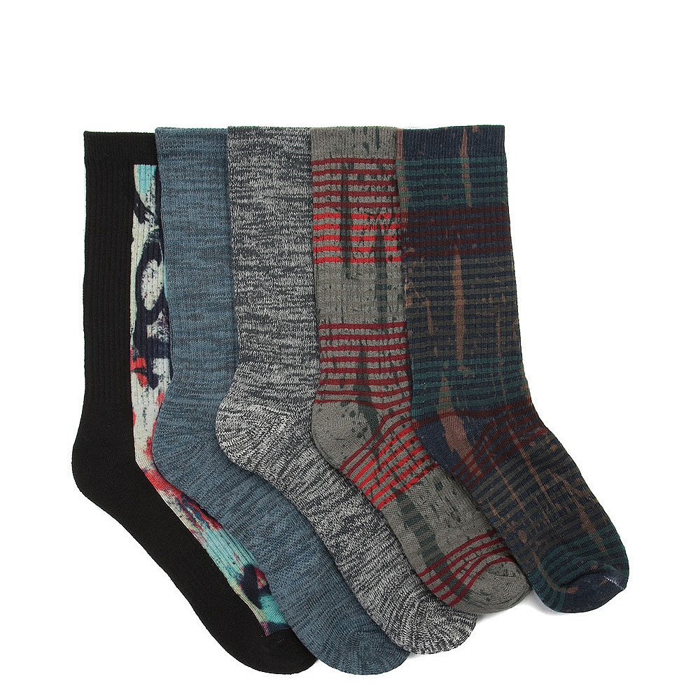Mens Rotary Crew Socks 5 Pack