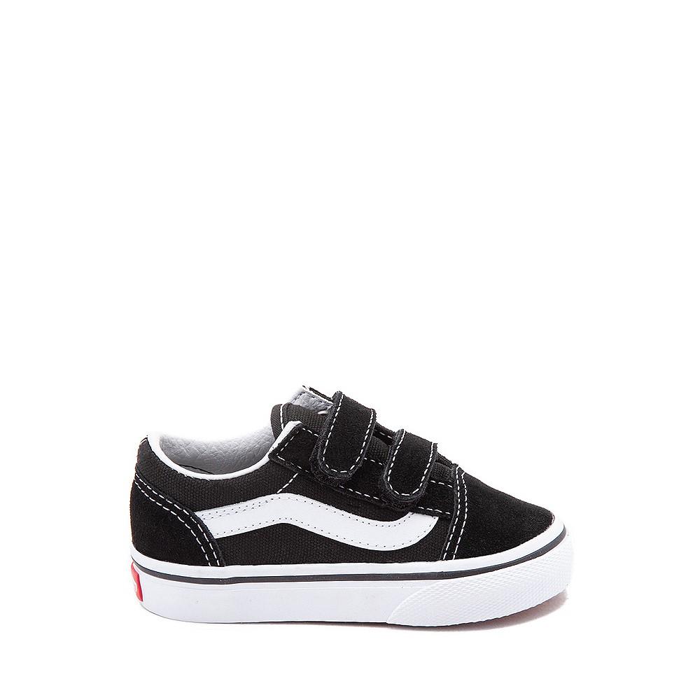 Vans Old Skool V Skate Shoe - Baby / Toddler - Black / White