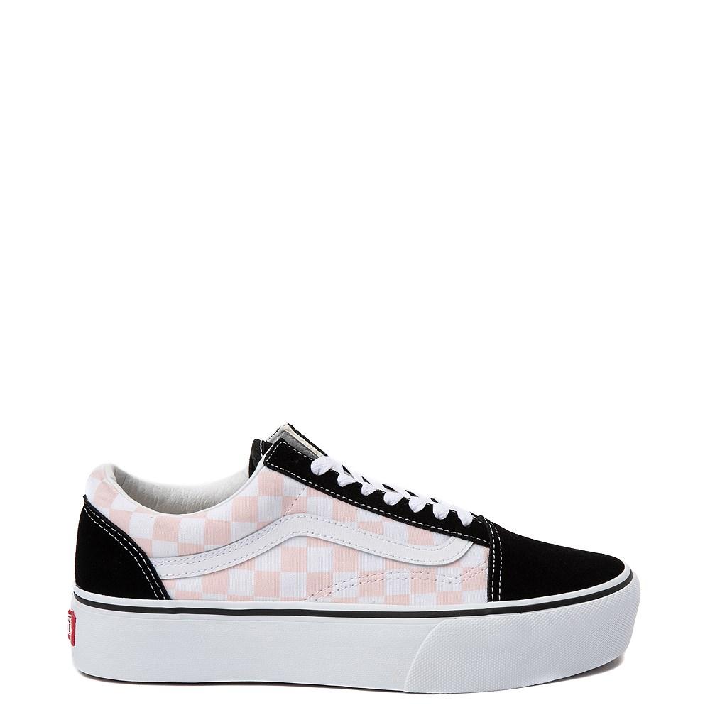Vans Old Skool Chex Platform Skate Shoe
