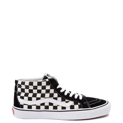 Main view of Vans Sk8 Mid Chex Skate Shoe