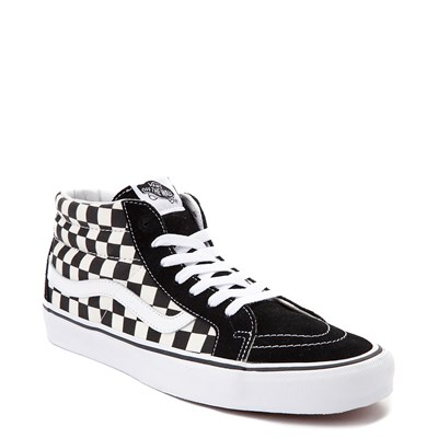 Alternate view of Vans Sk8 Mid Chex Skate Shoe