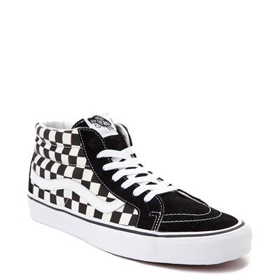 Alternate view of Vans Sk8 Mid Chex Skate Shoe