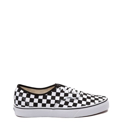 Main view of Vans Authentic Chex Skate Shoe