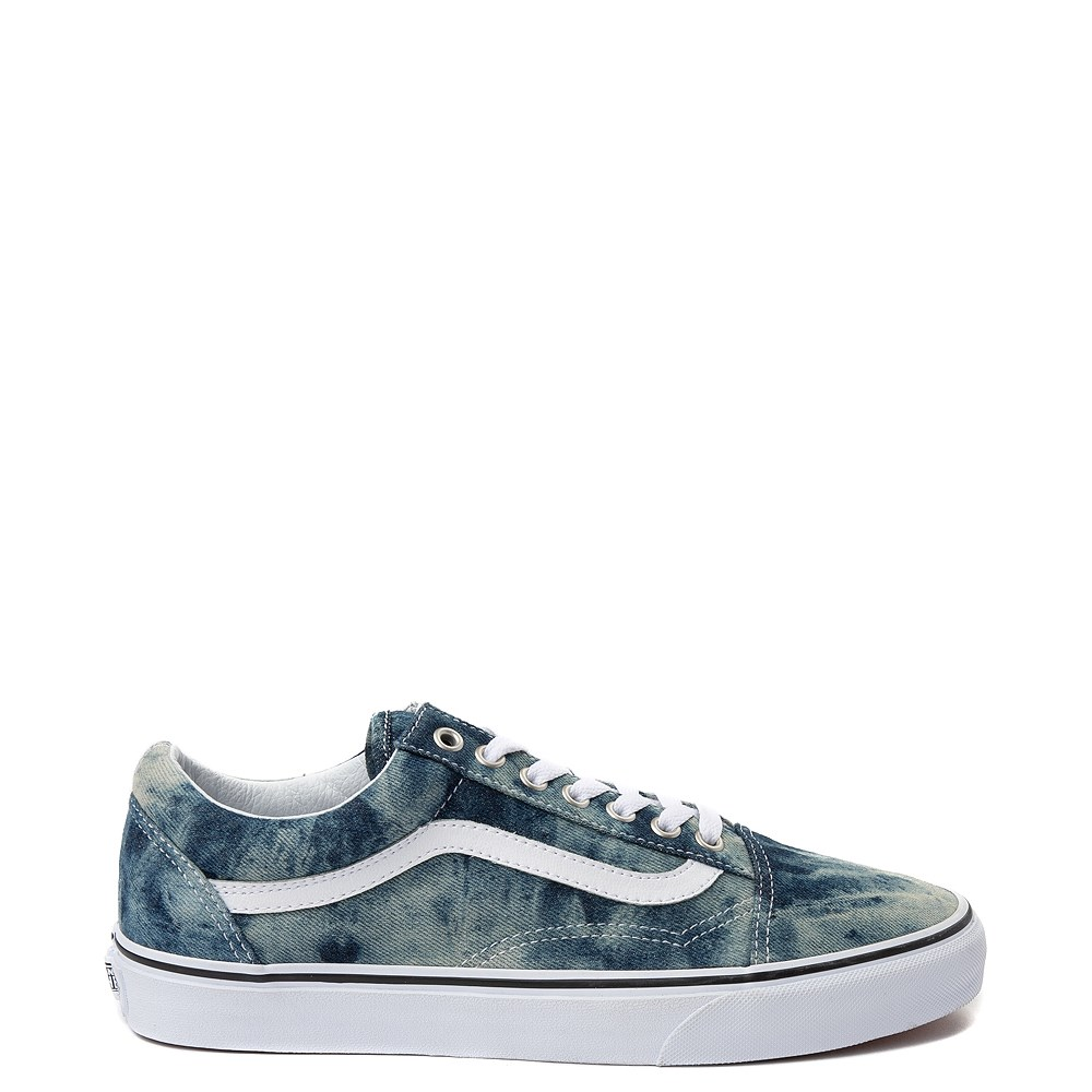 Vans Old Skool Skate Shoe - Acid Denim