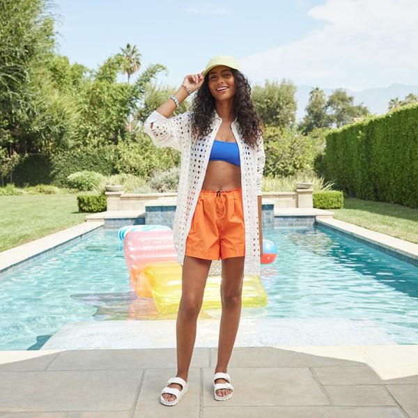 alternate view Womens Birkenstock Arizona EVA Slide Sandal - WhiteALT1B