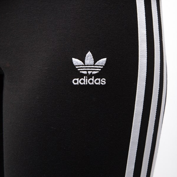 alternate image alternate view Womens adidas 3-Stripes LeggingsALT5