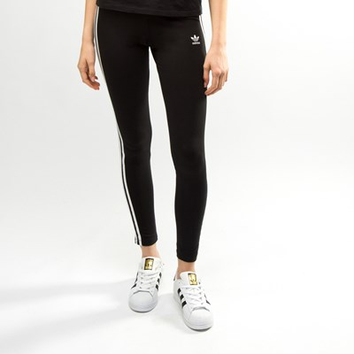 Alternate view of Womens adidas 3-Stripes Leggings