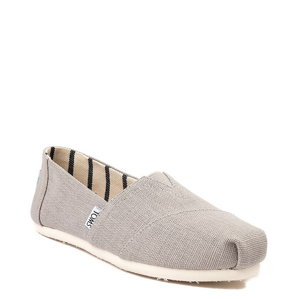alternate image alternate view Womens TOMS Classic Slip On Casual Shoe - GreyALT1