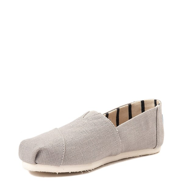 alternate image alternate view Womens TOMS Classic Slip On Casual Shoe - GreyALT3