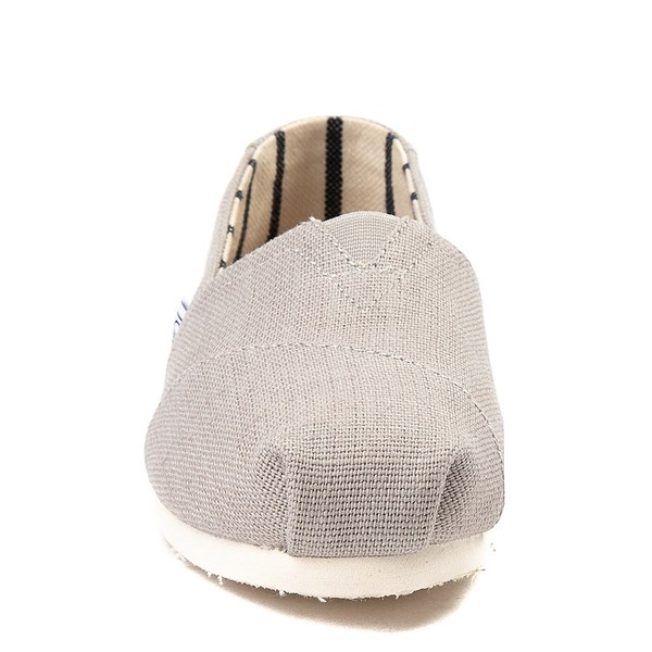 alternate image alternate view Womens TOMS Classic Slip On Casual Shoe - GreyALT4