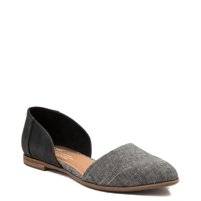 Alternate view of Womens TOMS Jutti D'Orsay Flat