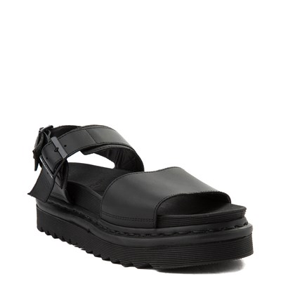 Alternate view of Womens Dr. Martens Voss Sandal - Black