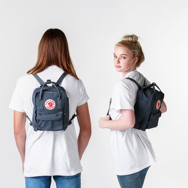alternate image alternate view Fjallraven Kanken Mini Backpack - GreyALT1BADULT