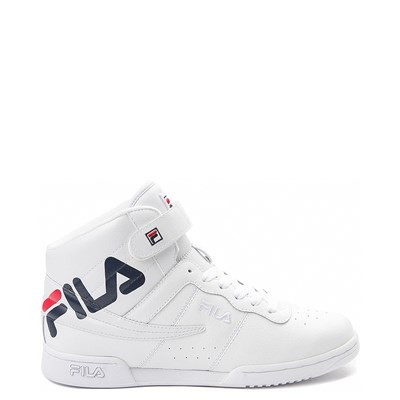 Main view of Womens Fila F-13 Athletic Shoe - White / Navy / Red