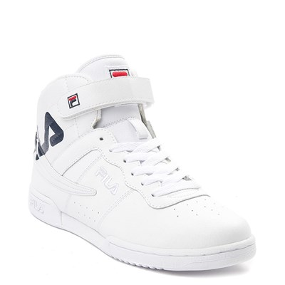 Alternate view of Womens Fila F-13 Athletic Shoe - White / Navy / Red