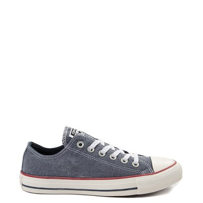 Main view of Converse Chuck Taylor All Star Lo Washed Denim Sneaker