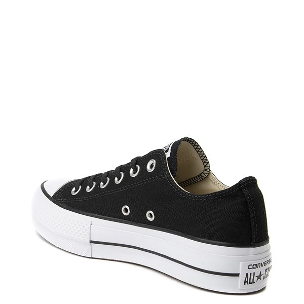 alternate image alternate view Womens Converse Chuck Taylor All Star Lo Clean LiftALT2