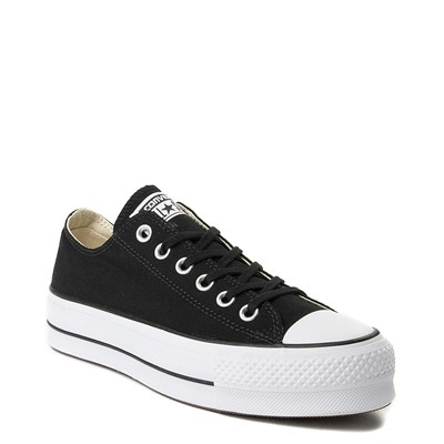 Alternate view of Womens Converse Chuck Taylor All Star Lo Clean Lift