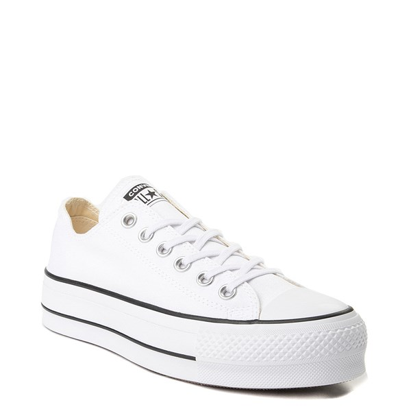 alternate image alternate view Womens Converse Chuck Taylor All Star Lo Clean LiftALT1