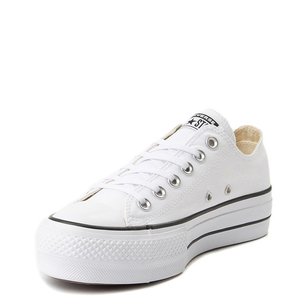 alternate image alternate view Womens Converse Chuck Taylor All Star Lo Clean LiftALT3