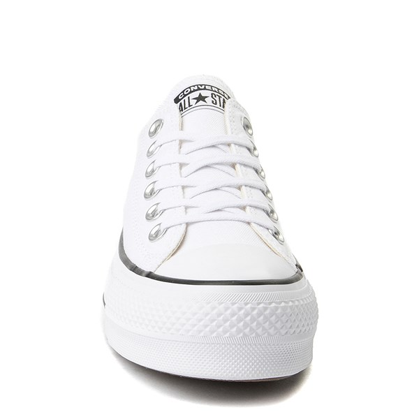 alternate image alternate view Womens Converse Chuck Taylor All Star Lo Clean LiftALT4