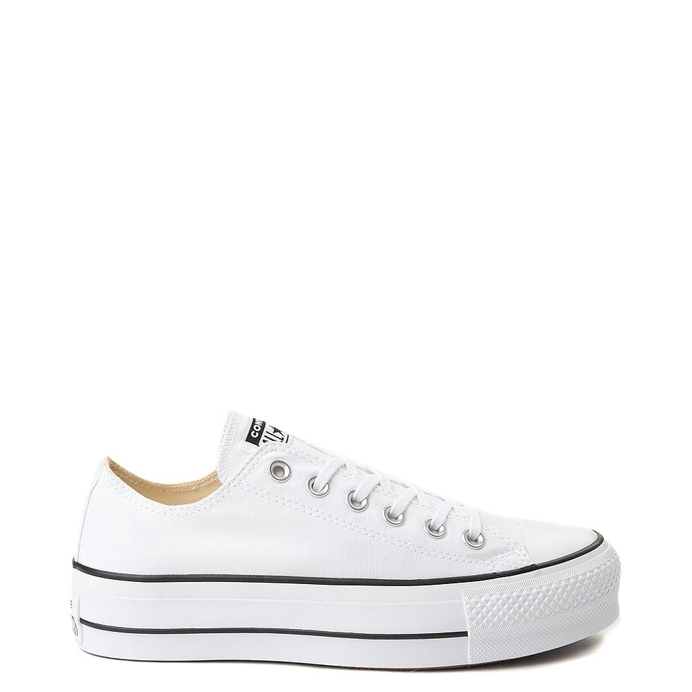 6e33cdaeede Womens Converse Chuck Taylor All Star Lo Clean Lift