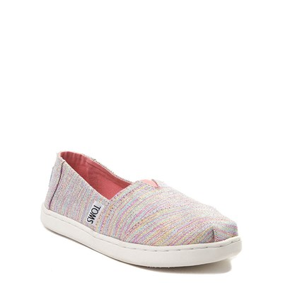 Alternate view of TOMS Classic Glimmer Slip On Casual Shoe - Little Kid / Big Kid