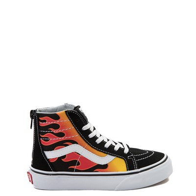 Main view of Vans Sk8 Hi Flames Skate Shoe - Little Kid / Big Kid