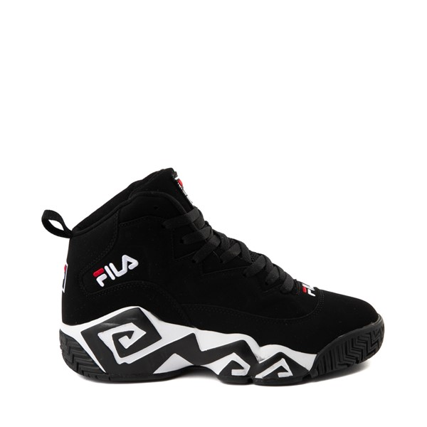 Main view of Mens Fila MB Athletic Shoe - Black / White / Red