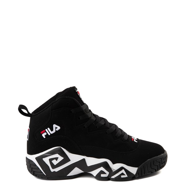 Mens Fila MB Athletic Shoe - Black / White / Red