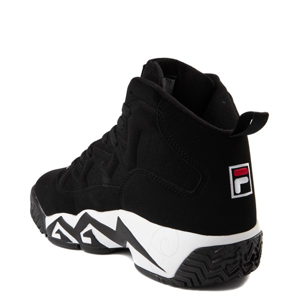 alternate image alternate view Mens Fila MB Athletic Shoe - Black / White / RedALT2