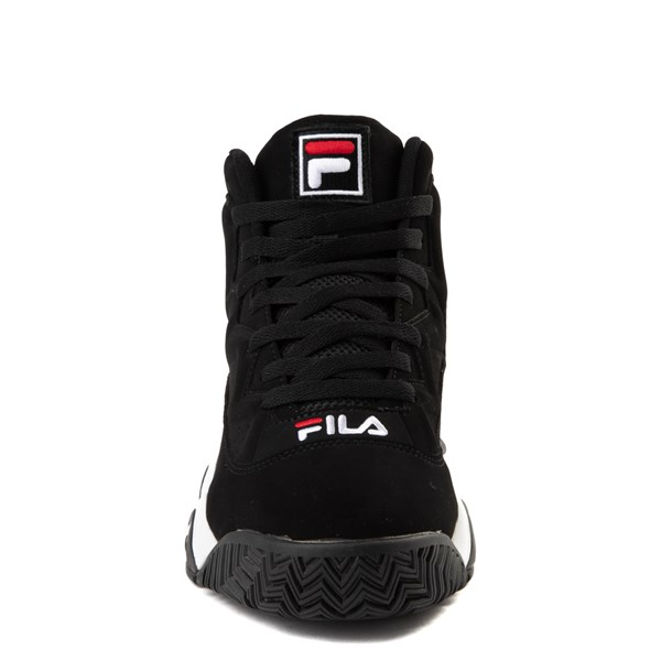 alternate image alternate view Mens Fila MB Athletic Shoe - Black / White / RedALT4