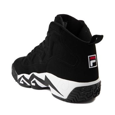 Alternate view of Mens Fila MB Athletic Shoe - Black / White / Red