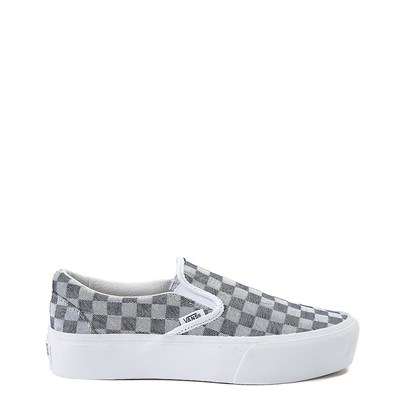 Main view of Vans Slip On Chex Platform Skate Shoe